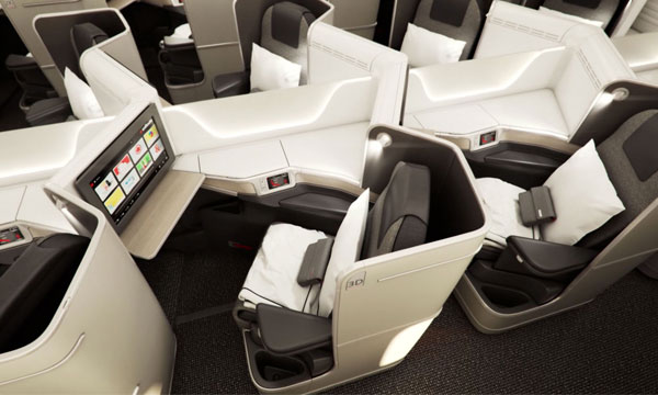 Air Canada Premiers New Boeing 787 Dreamliner Cabin Interiors