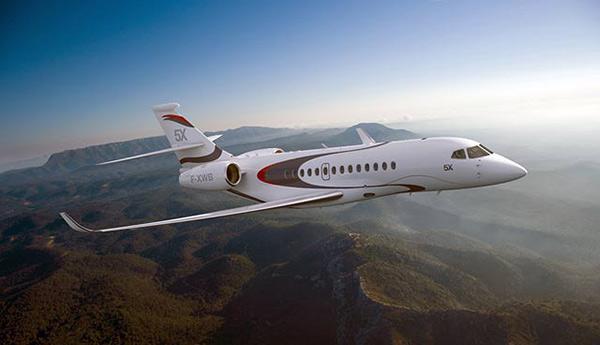 Dassault Aviation Unveils Falcon 5X, New Advanced-Technology, Long-Range Business Jet