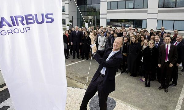 Airbus Group takes off into 2014 with joint brand