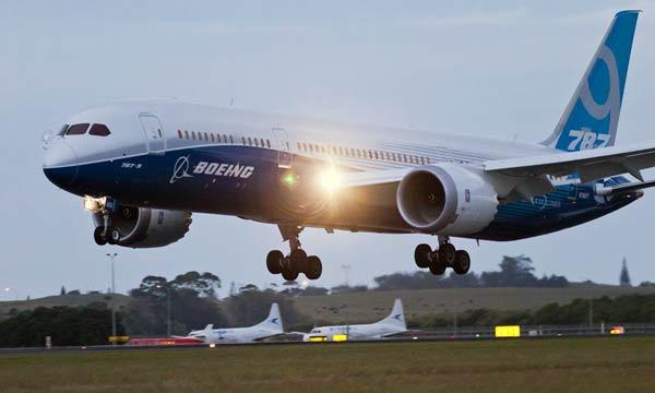 Boeing 787-9 Dreamliner Visits New Zealand in International Debut