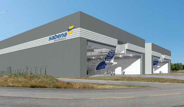 Sabena technics and Airbus sign a 15 year painting contract