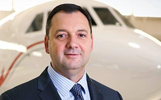 Dassault Falcon Jet Names Rob Connolly Director of Spec & Design