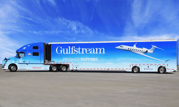 Gulfstream adds support vehicle for major events