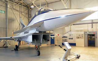 RAF Museum's unveiling of EAP marks new partnership