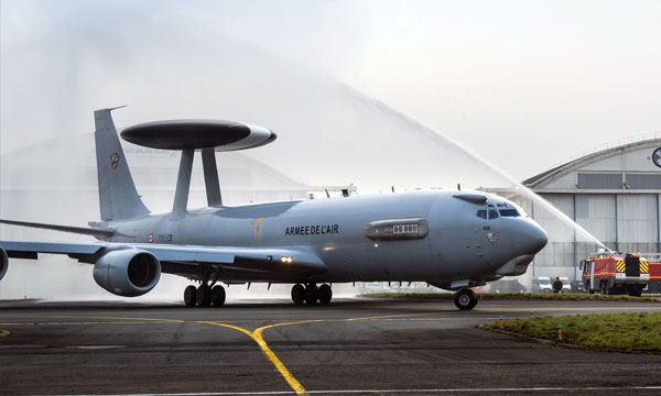 Boeing and Air France Industries Successfully Complete Major Modification of French AWACS Aircraft