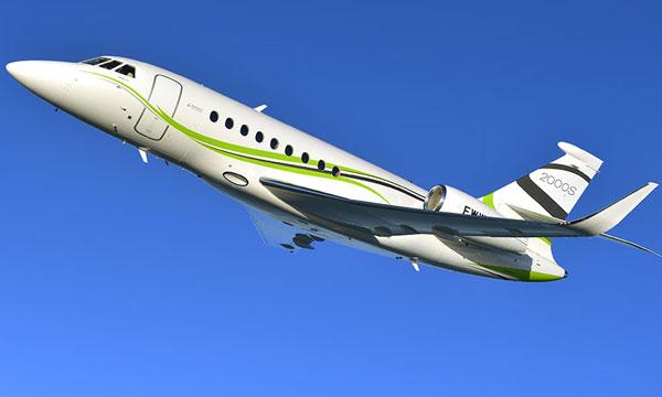 Dassault's Falcon 2000S Flies into Brazilian Market
