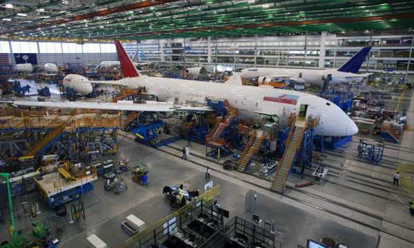 Boeing delays decision on 787-10 production site