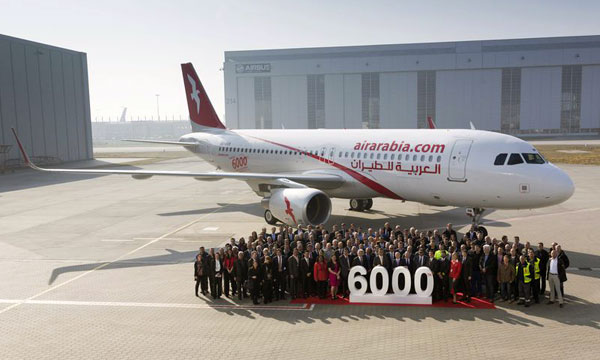 The A320 Family: 6,000 deliveries and counting