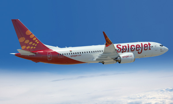 Boeing, SpiceJet Announce Order for 42 737 MAX 8s