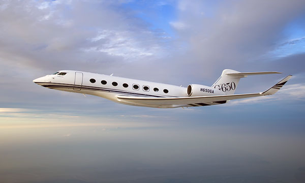 Gulfstream G650 sets speed record between new york and Mumbai