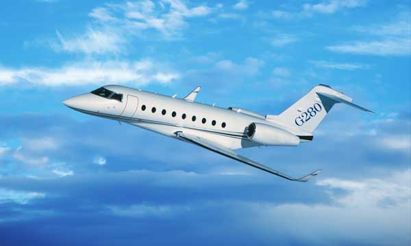Gulfstream G280 establishes multiple city-pair records