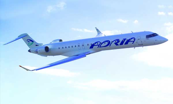 Long-Time Bombardier Customer Adria Airways Orders Two CRJ900 NextGen Aircraft