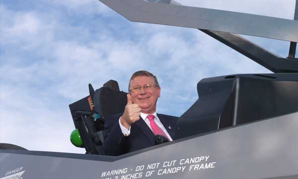 Marand Delivers First Australian Made Vertical Tails For F-35 Lightning II