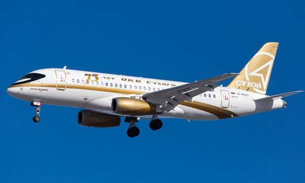Sukhoi traditions: SSJ100 special livery for Atlas Jet and Centre-South Airlines