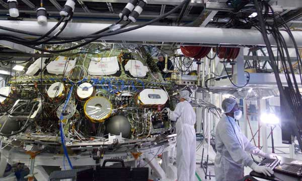 Orion Avionics System Ready for First Test Flight