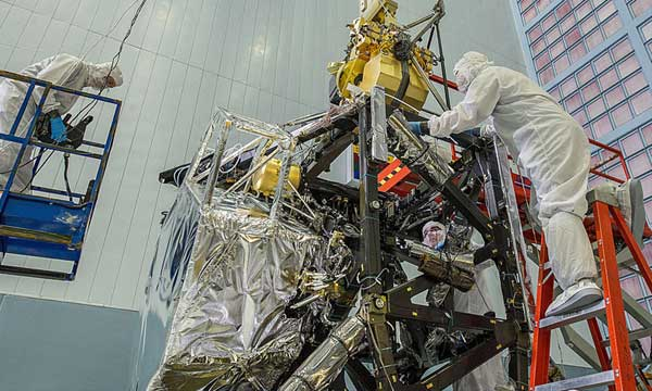 Near Infrared Camera Integrated into James Webb Space Telescope