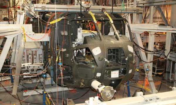 Sikorsky Tests CH-53K Helicopter for Airframe Structural Strength