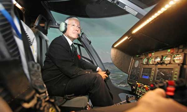 Airbus Helicopters launches Japan's first helicopter full flight simulator