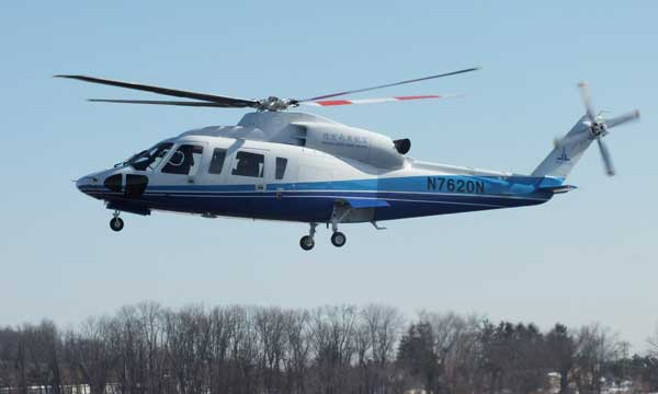 China Certifies Sikorsky S-76D™ Helicopter