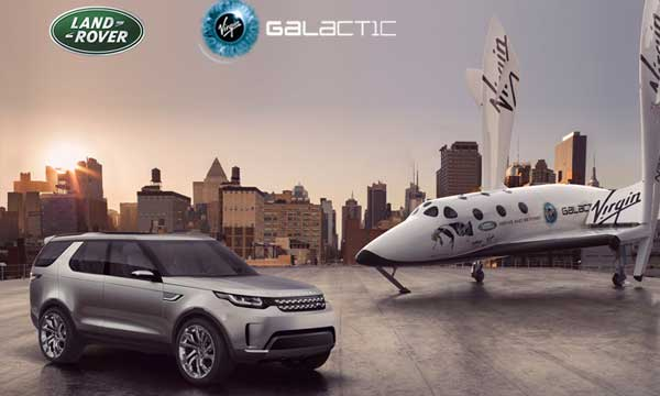 Virgin Galactic announces global partnership with Land Rover