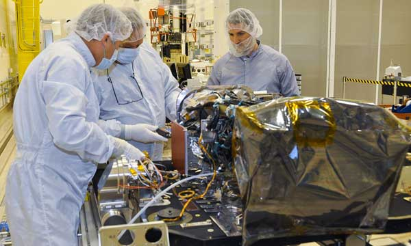 Lockheed Martin Solar Ultraviolet Imager Installed on GOES-R Weather Satellite