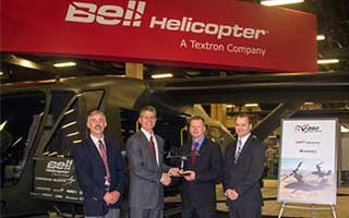 Bell Helicopter, Astronics Announce Cooperative Agreement