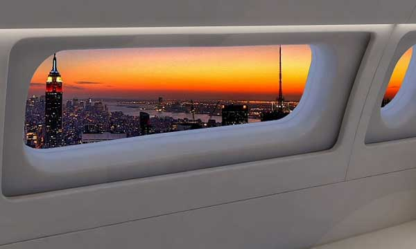 Fokker launches 'Panoramic Window' in collaboration with Boeing Business Jets