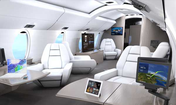 Rockwell Collins introduces Venue™ HD-based cabin system retrofit for Bombardier Global aircraft
