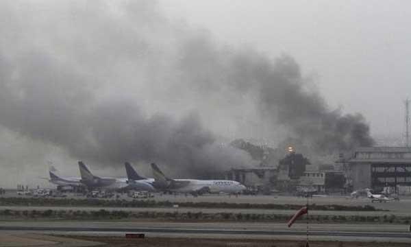 Pakistani Taliban attack airport in Karachi, 27 dead