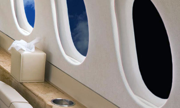 Hondajet, Vision Systems North America's  launch customer