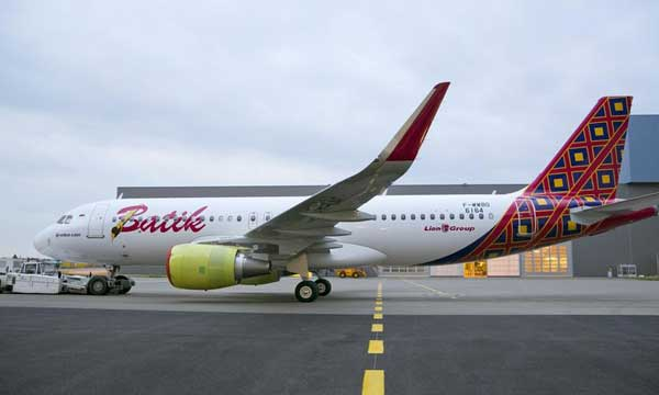Lion Group's first Airbus aircraft rolls out of paintshop