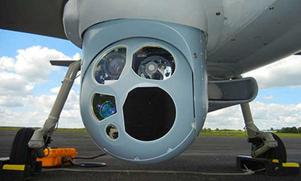 Sagem integrates on its tactical Patroller UAS a new generation imagery multi-sensors payload