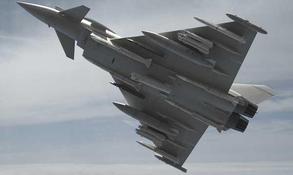 Integration studies of MBDA Brimstone missile on Typhoon are starting
