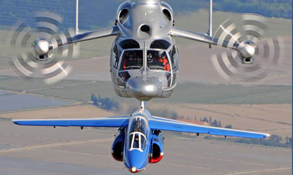 X3 high-speed demonstrator: a new home at France's national Air and Space museum