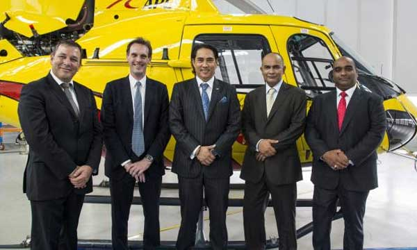 Airbus Helicopters delivers AS350 B3e and EC135 T2e to Malaysia's Aerial Power Lines