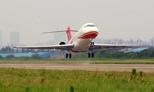 The ARJ21-700 has successfully completed its first flight