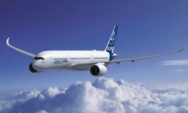 The A350 XWB takes centre stage with UK airshow debut