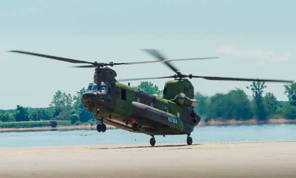 Boeing delivers CH-147F Chinooks to Canada