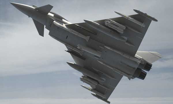 UK Study Contract Awarded to integrate Brimstone 2 onto Typhoon