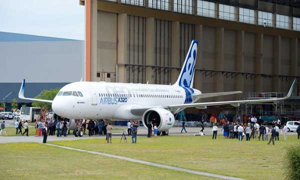 The first A320neo Family jetliner is getting ready