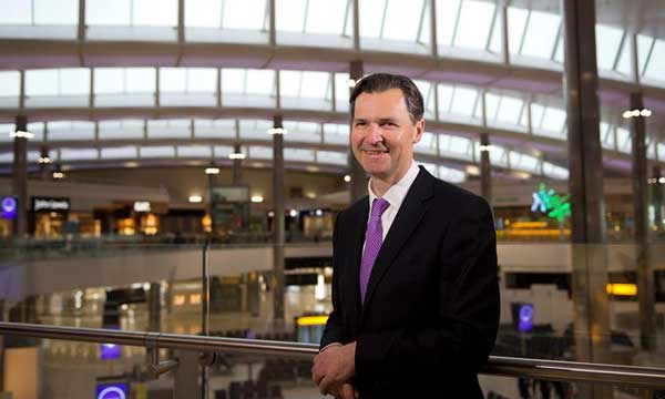 First day for Heathrow's new CEO