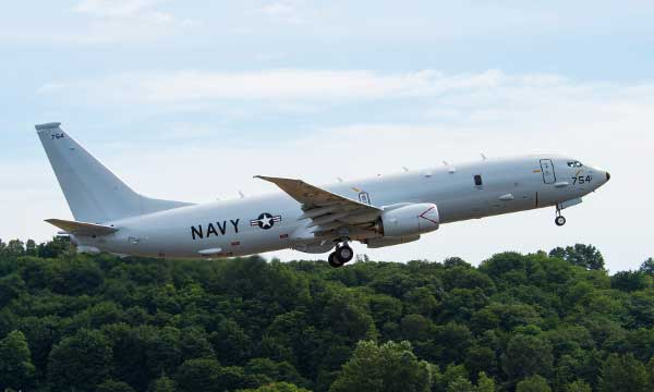 Boeing, U.S. Navy Expand P-8A Maritime Patrol Fleet with 14th Delivery