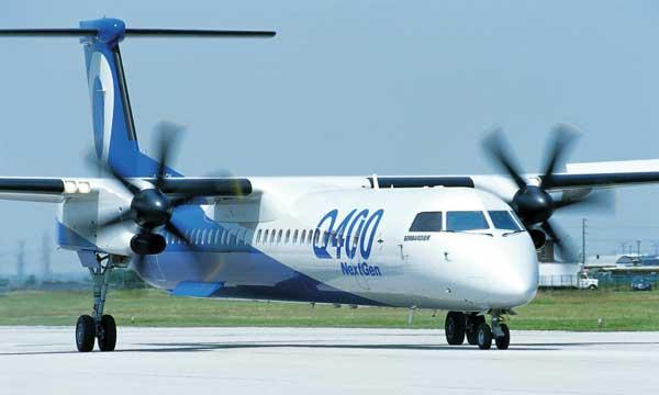 Bombardier Showcases Q400 NextGen Aircraft in Astana, Kazakhstan