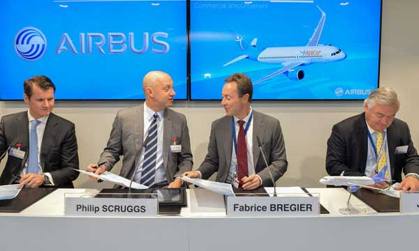 AerCap firms up order for 50 A320neo Family aircraft