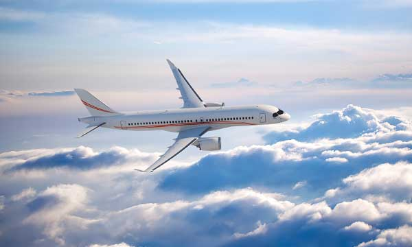 Falcon Aviation Services orders two Bombardier CSeries Jetliners