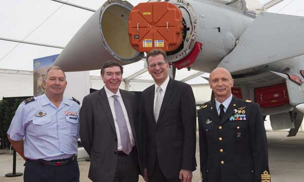 Eurofighter Typhoon: New Aesa Radar System