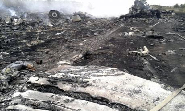 Ukraine says rebels shoot down Malaysian airliner, 295 dead