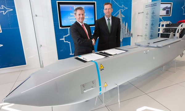 Eurofighter and Netma sign Storm Shadow integration contract