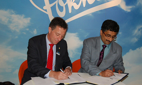 Fokker and SASMOS signed Agreements for Production of Wiring Harnesses in India