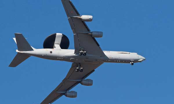 Boeing Delivers Upgraded French AWACS Aircraft
